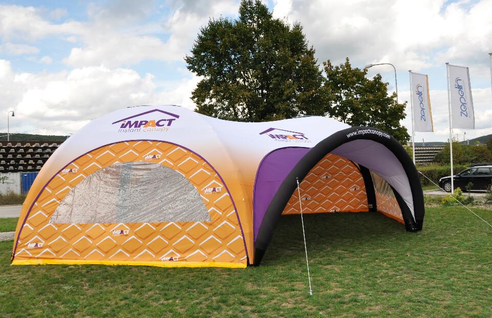 Hexa IMPACT event tent AXION4EVENT