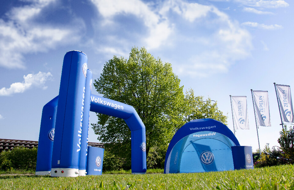 Lite Wolkswagen event tent AXION4EVENT